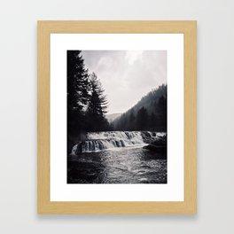 The Falls Framed Art Print