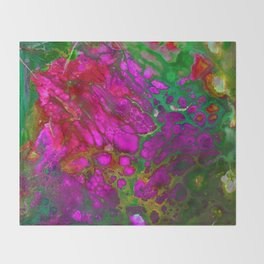 Pink Core Throw Blanket
