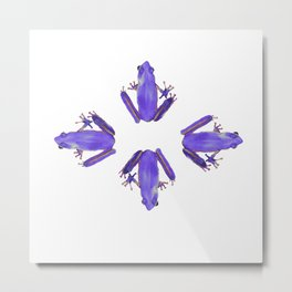 Purple Haze of Frogs Metal Print