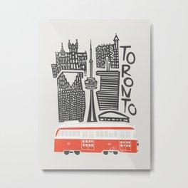 Toronto Cityscape Metal Print