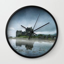 Scottish Castle Wall Clock