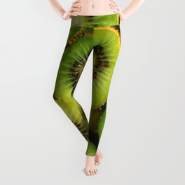 Kiwi Fruit Leggings