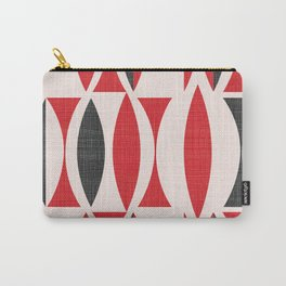 Seventies in Cherry Red Carry-All Pouch