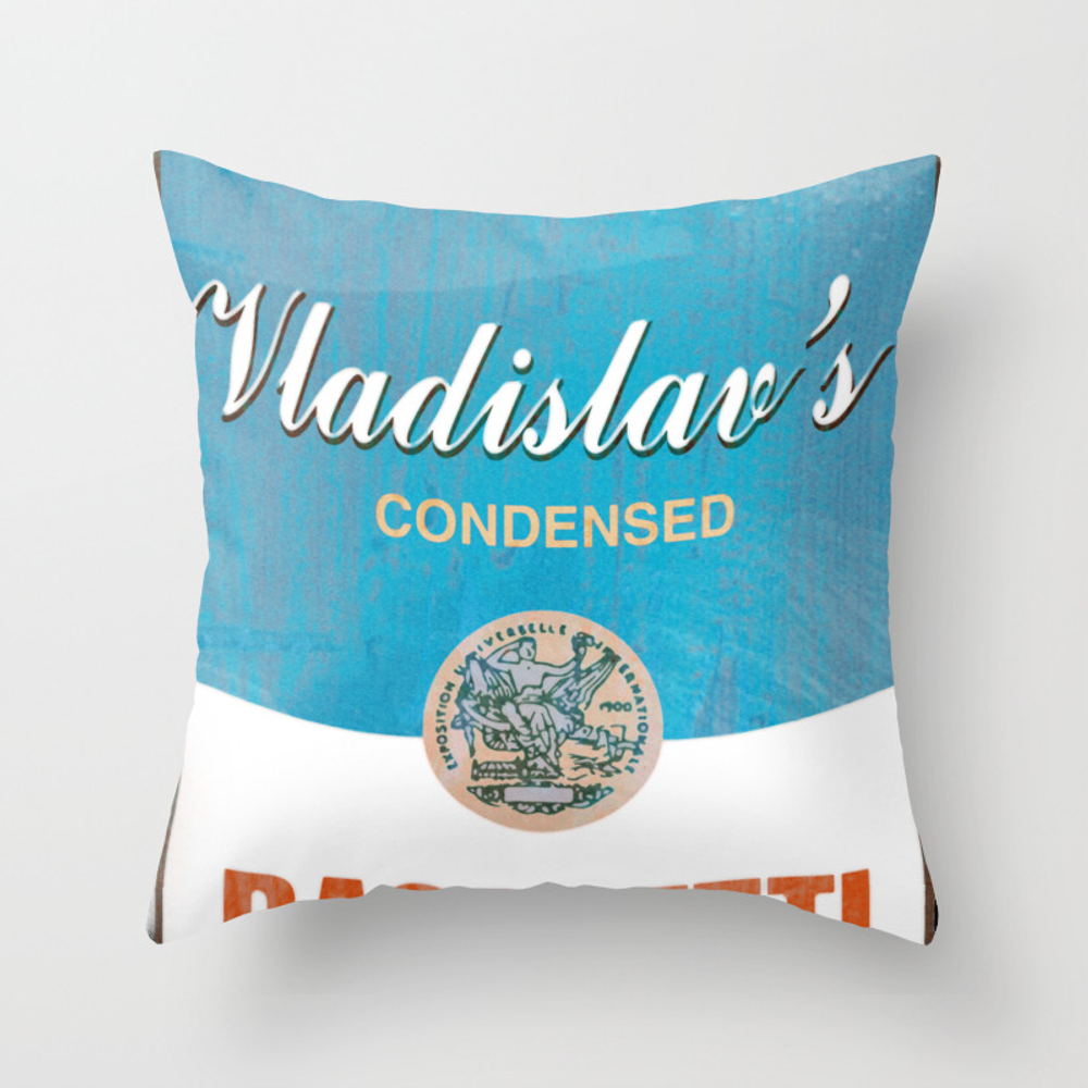 What We Do In The Shadows: Do You Like Basghetti? Throw Pillow by Madaramason PLW3406757