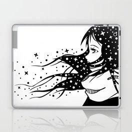 Girl of stars Laptop & iPad Skin