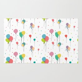 Balloon pattern design Rug