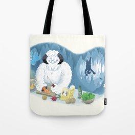 Frozen Dinner Tote Bag