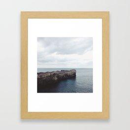 Lonely Shore Framed Art Print