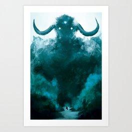 The Colossus Art Print