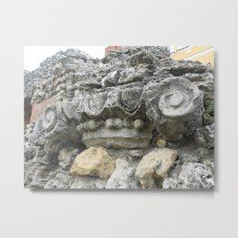 Stone curl Metal Print