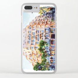 La Pedrera Barcelona Clear iPhone Case