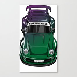 RWB bunglon Canvas Print