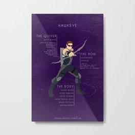 World Class Archer Metal Print