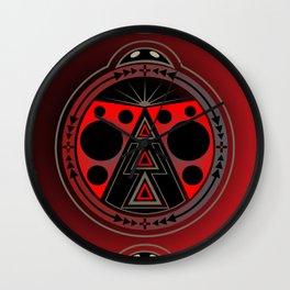 Ladybird Nation Wall Clock