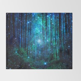 magical path Throw Blanket