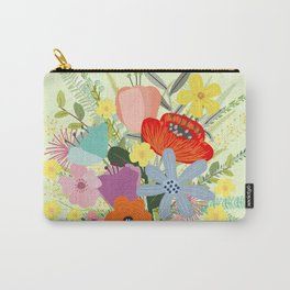 Bringing Summer Wildflowers Inside Carry-All Pouch