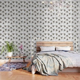 Bee Pattern - Katrina Niswander Wallpaper