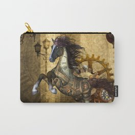 Awesome steampunk horse Carry-All Pouch