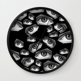 Scopophobia Wall Clock