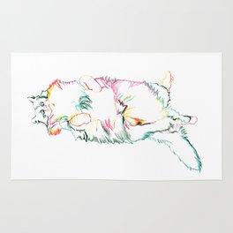 Fluffy Kitty Rug