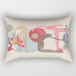 Rain Dance Rectangular Pillow