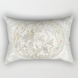 Star map of the Southern Starry Sky Rectangular Pillow