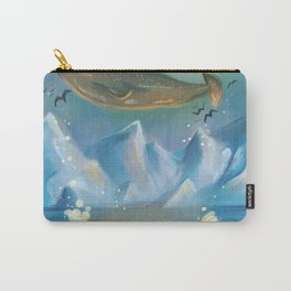 Flying Narwhals Carry-All Pouch