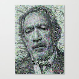 Anthony Quinn -Sketch Canvas Print