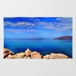 Island of Krk in Croatia Rug