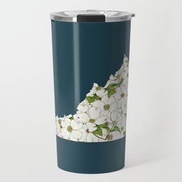 Virginia in Flowers Travel Mug