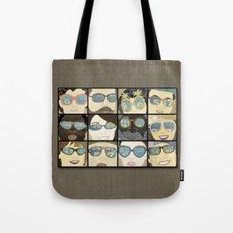 Glasses Vertical Tote Bag
