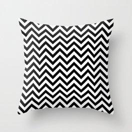 ZIG-ZAG FLOOR CHEVRON Throw Pillow