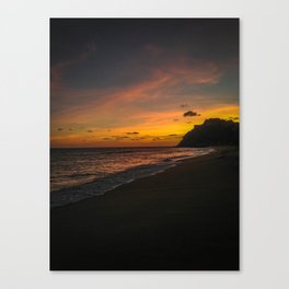 Sunset Cabo Canvas Print