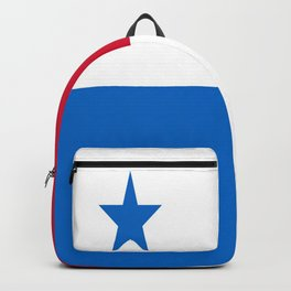 flag of panama-Panama,Panamanian,canal,spanish,San Miguelito,Tocumen,latine,central america,panameno Backpack