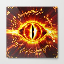eyes of the ring ruler Metal Print