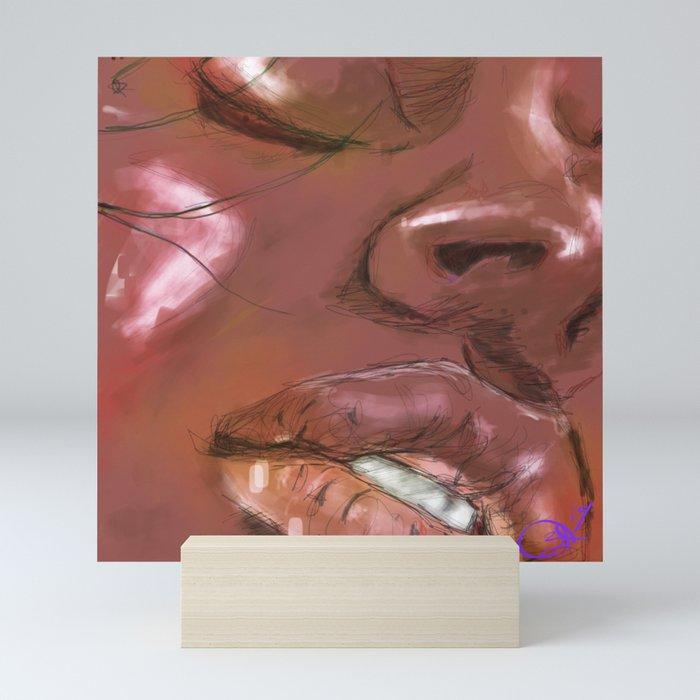 Face the Music Mini Art Print
