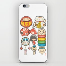 Special Lucky Toy Box iPhone Skin