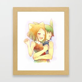 Draw with Me: Imaginary Perfection Framed Art Print