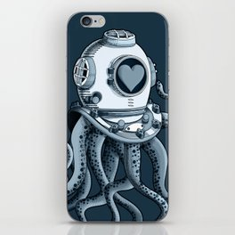 I'm falling in love with you? (blue gray) iPhone Skin