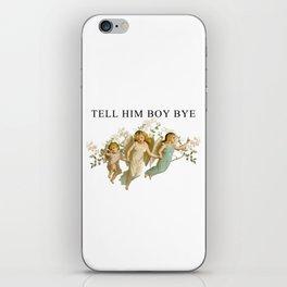 BOY, BYE iPhone Skin