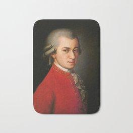 Wolfgang Amadeus Mozart (1756 -1791) by Barbara Krafft (1819) Bath Mat