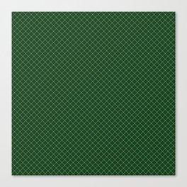 Green Scottish Fabric High Resolution Canvas Print