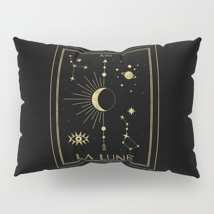 The Moon or La Lune Gold Edition Pillow Sham