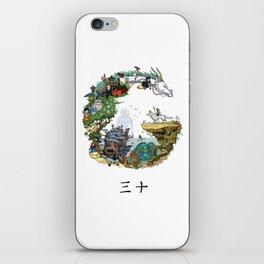 Studio Ghibli iPhone Skin