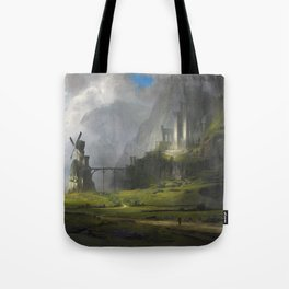 Ventus Castle Tote Bag