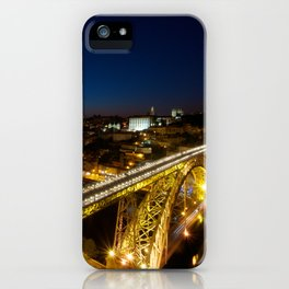 Porto by night iPhone Case