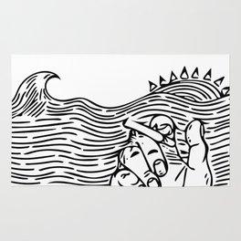 Wave Break Rug
