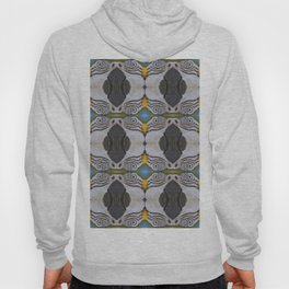 Parrot collage Hoody