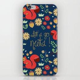 Let's go nuts! - Surface Pattern Design - ByBeck iPhone Skin