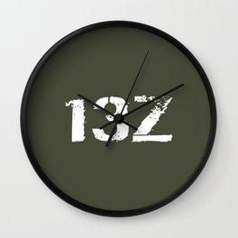 13Z Field Artillery Wall Clock